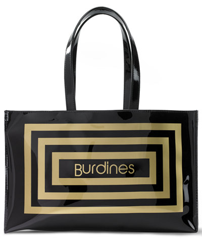 Burdines Large Open Tote Holiday Lane For The Home
