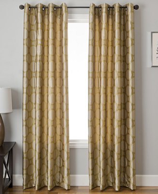 Closeout softline element circle 55 x 108 panel for 108 window treatments
