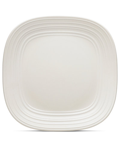 mikasa dinnerware swirl square white dinner plate sale clearance