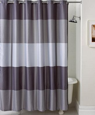 Encore Stripe Shower Curtain Curtains Bed Bath Macy