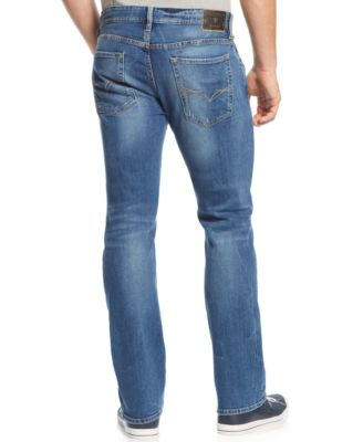 GUESS Mens Bootcut Folsom Blues-Wash J..