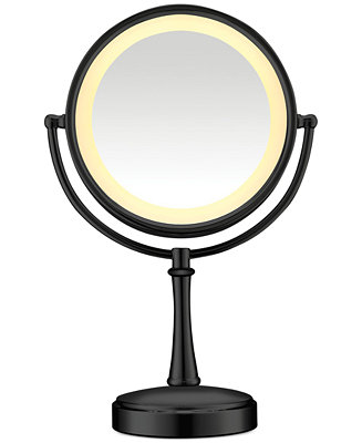 conair touch control double sided lighted makeup mirror bathroom. Black Bedroom Furniture Sets. Home Design Ideas