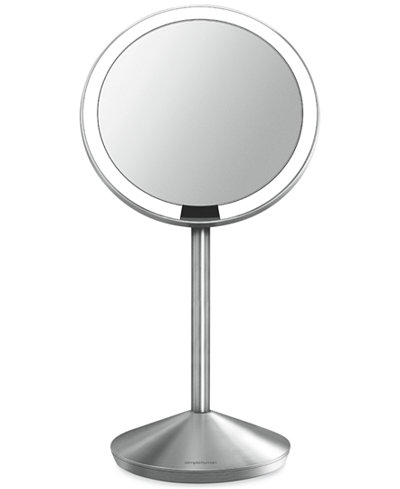 simplehuman mini lighted sensor activated magnifying. Black Bedroom Furniture Sets. Home Design Ideas
