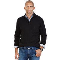 Nautica Big and Tall Quarter-Zip Sweater