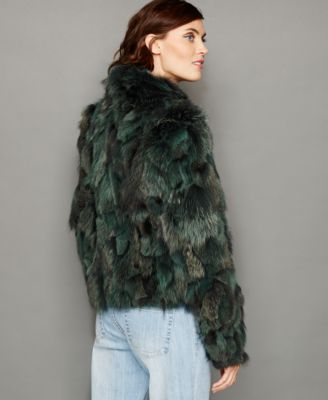 The Fur Vault Fox Fur Jacket
