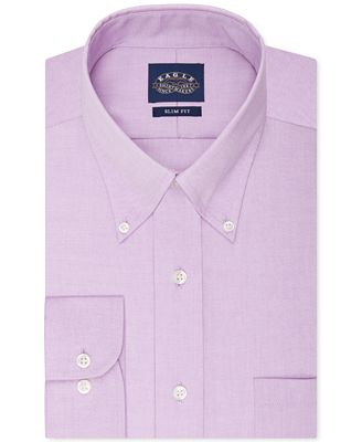 Eagle slim fit no iron pinpoint dress shirt dress shirts for Mens no iron dress shirts
