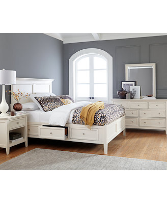 sanibel storage bedroom furniture collection only at macy