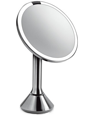 simplehuman lighted sensor activated magnifying vanity makeup mirror shop all brands beauty. Black Bedroom Furniture Sets. Home Design Ideas