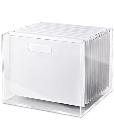 Russell Amp Hazel Acrylic File Box Cleaning Amp Organization