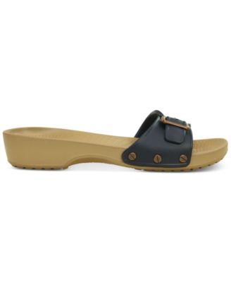 Crocs Womens Sarah Flat Sandals