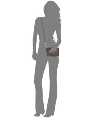 Calvin Klein Monogram Mini Crossbody