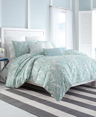 Nautica Long Bay 3 Pc Bedding Collection 100 Cotton
