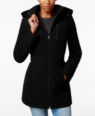 Laundry by Design Petite Hooded Quilte..