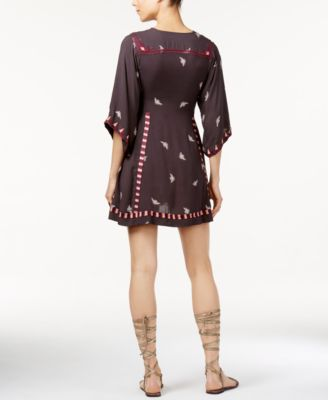 Free People Tulum Embrodiered Babydoll..