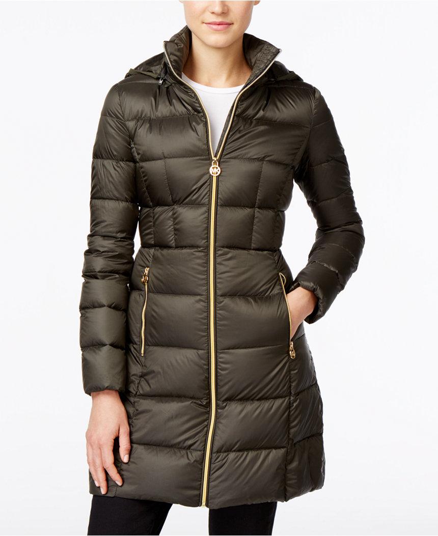 Michael Kors puffer coat