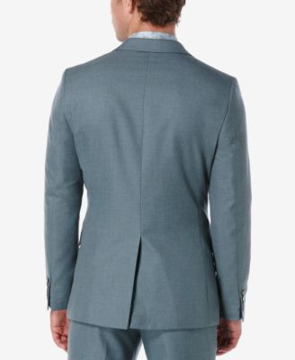 Perry Ellis Mens Slim-Fit Twill Jacket