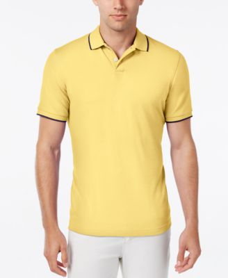 Club Room Mens Tipped Polo