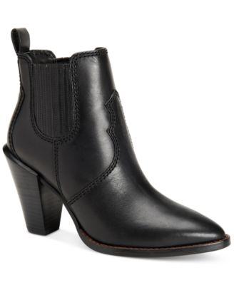 COACH Westyn Block-Heel Booties