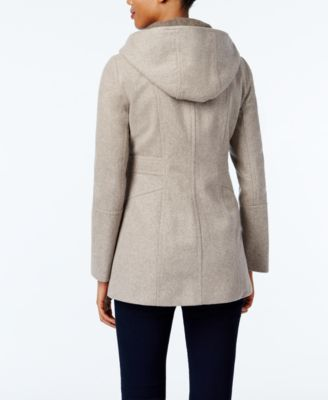London Fog Hooded Walker Coat