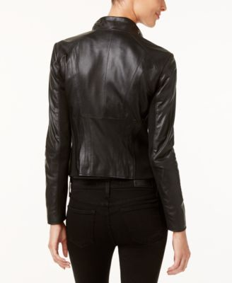 Marc New York Felix Leather Moto Jacket