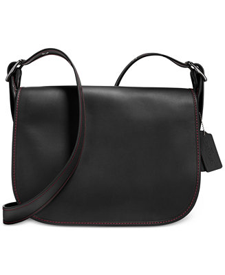 Coach Saddle Bag In Glovetanned Leather Handbags