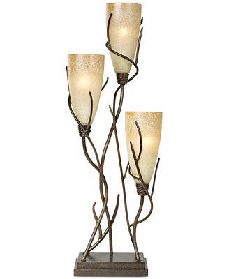 Pacific Coast El Dorado 3 Light Table Lamp Lighting