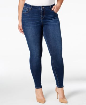 Body Sculpt by Celebrity Pink Trendy Plus Size The Super Lifter Skinny Jeans