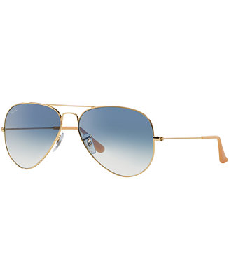 Ray ban sunglasses rb3025 55 aviator sunglasses by for Ray ban verre bleu miroir
