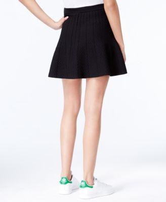 RACHEL Rachel Roy Sally Textured A-Line Skirt