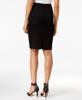 Calvin Klein Fringe Pencil Skirt