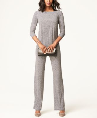 Alfani Knit Wide-Leg Pants