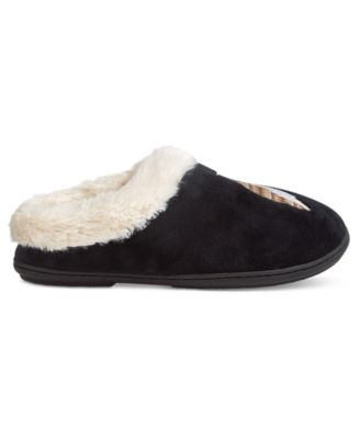 Charter Club Owl Clog Slippers