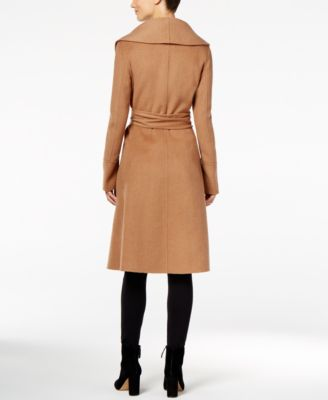 Jones New York Double-Face Wool-Blend Wrap Coat
