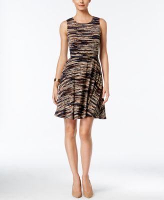 Jessica Howard Belted Fit & Flare Dres..