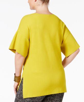 Alfani Plus Size Milano Dolman-Sleeve ..