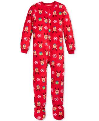 Family Pajamas Boys or Girls Reindeer ..