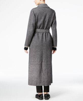 Weekend Max Mara Reversible Herringbone Maxi Coat