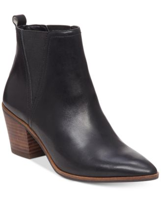 Lucky Brand Womens Lorry Double-Gore Point-Toe Booties