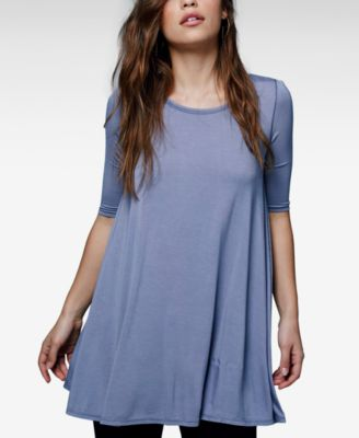 Free People Jacqueline Elbow-Sleeve Tu..