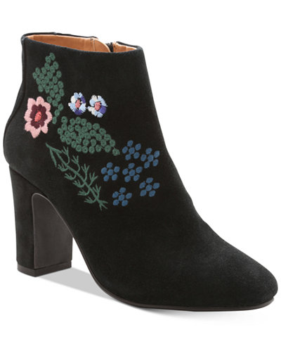 Nanette By Nanette Lepore Beverly Embroidered Booties