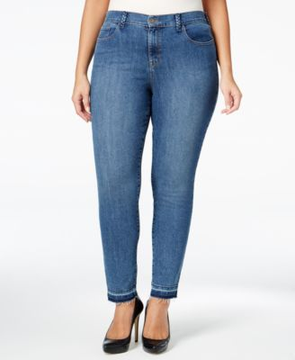 Style & Co. Plus Size Pacific Wash Skinny Ankle Jeans, Only at Macy's
