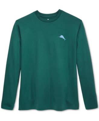 Tommy Bahama Mens Relax Graphic Long-Sleeve T-Shirt