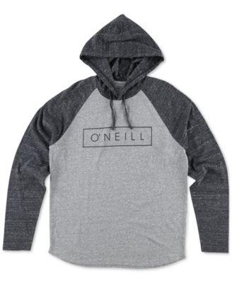 ONeill Mens Running Graphic-Print Logo Hoodie