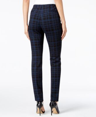 Alfani Slim-Fit Plaid Pants