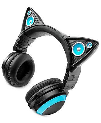 Brookstone Cat Ears Headphones Gifts Gadgets Amp Audio