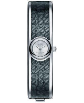 COACH Women's Scout Two-Tone Stainless Steel & Enamel Bangle Bracelet 16mm 14502620