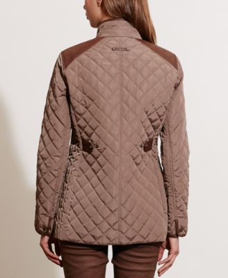 Lauren Ralph Lauren Petite Diamond Quilted Jacket