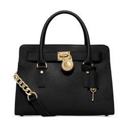 Michael Kors Leather Satchel Handbag + $40 Macys Money