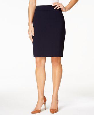 nine west pencil skirt wear to work macy s