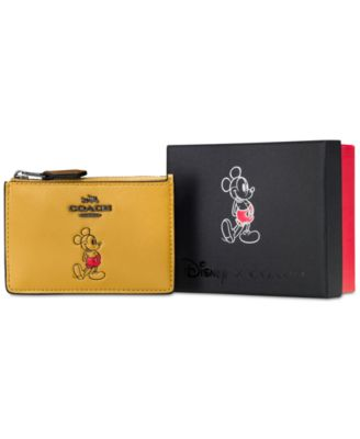 COACH Boxed Mickey Mini ID Skinny in C..